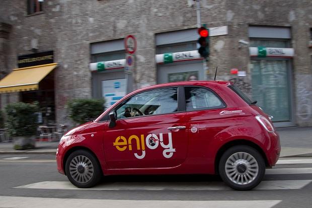 Enjoy car sharing